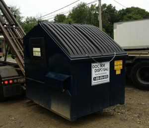 Commercial dumpsters near Abington MA