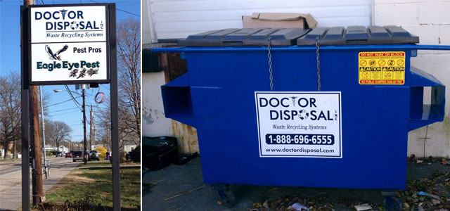 Commercial dumpsters in Brockton, MA