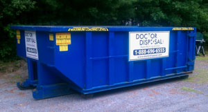 Roll off dumpster rentals in Weymouth, MA