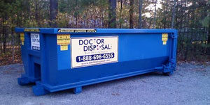 Dumpster Rental in Quincy MA from Doctor Disposal