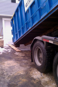 Cheap dumpster rentals in Abington, MA