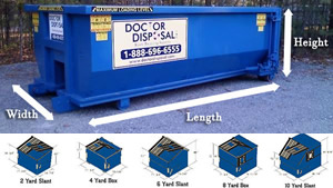 Best Dumpster Prices and Dumpster Sizes in Weymouth, Quincy, Brockton MA