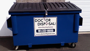 Front Load Commercial Dumpsters from Doctor Disposal