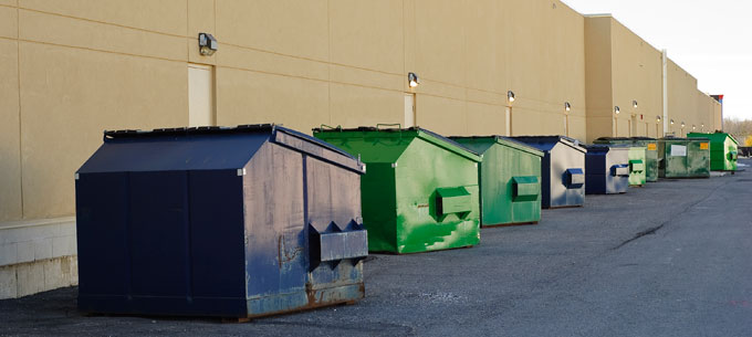 rent a commercial dumpster in weymouth mass